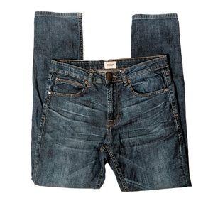 Hudson | Lian Dark Wash High Waist Skinny Jeans